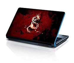 alterEgo Vinyl Laptop Skin- 10.1 IN, Red Dragon