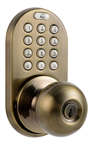 top best 5 door knob electronic lock for sale 2016 product boomsbeat. Black Bedroom Furniture Sets. Home Design Ideas