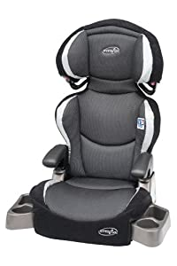 Evenflo Big Kid DLX Belt Positioning Booster Seat, Eclipse