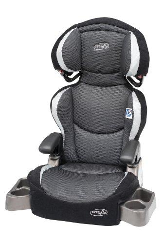Evenflo Big Kid DLX Belt Positioning Booster Seat, Eclipse