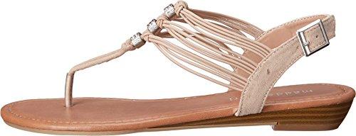 887865312260 - Madden Girl Women's Tangle Blush Fabric Sandal 7 M carousel main 1