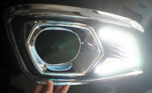 Led Daytime Running Toyota Fortuner 2012 Light Daylight Fog Lamp Cover Trim