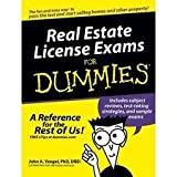 img - for Real Estate License Exams For Dummies 1st (first) edition book / textbook / text book