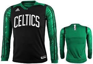 Adidas Boston Celtics Youth Impact Long Sleeve T-Shirt by adidas