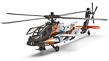 Revell - 04896 - Maquette - Aviation - Ah-64d Apache - Hélicoptère