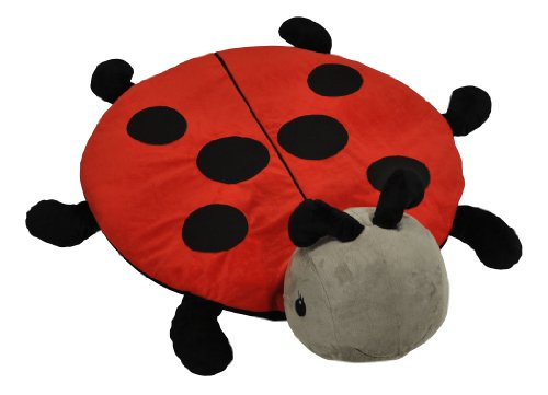 Cloud B Snug Rug Plush Toy, Ladybug - 1