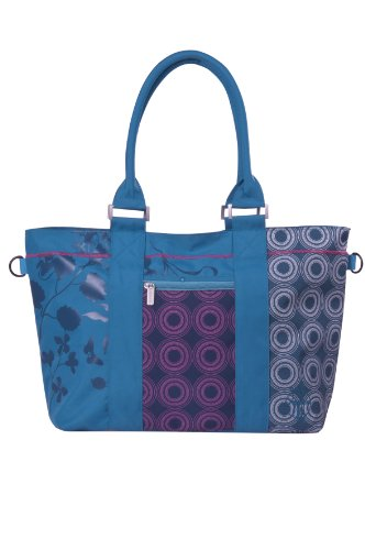 Lassig Diaper Bag Casual City Shopper Bag, Petrol (Discontinued by Manufacturer)