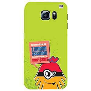 Zameen Aasman - Mobile Back Case Cover For Samsung Galaxy S6 Edge