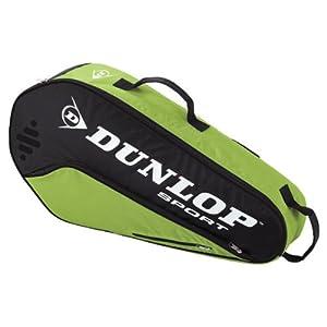 Buy Biomimetic Tour 3 Pack Green Tennis Bag by Dunlop