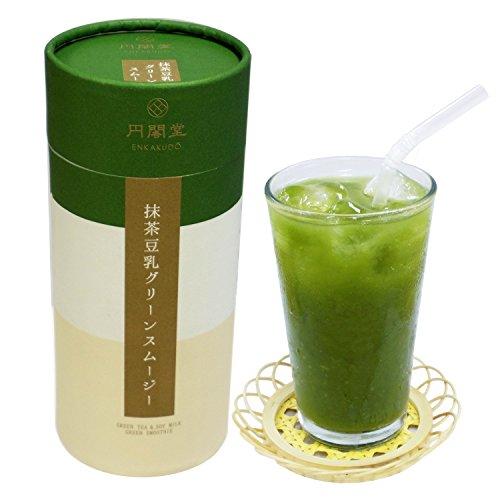 抹茶豆乳グリーンスムージー 宇治抹茶使用 内容量200g