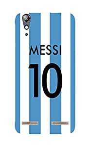 Back Cover for Lenovo A6000 MESSI 10