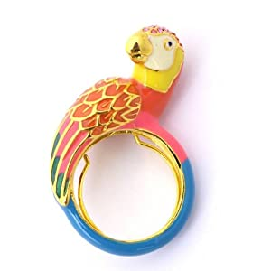 Juicy Couture 'Palm Beach Poolside' Parrot Ring