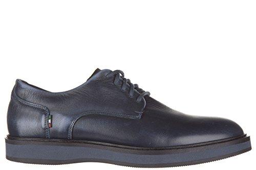 Armani Jeans scarpe stringate classiche uomo in pelle nuove derby vintage blu EU 42 935015 6A404 32335