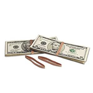 MMF Industries Products - MMF Industries - Blank Paper Bill Bands, 1000/Box, Brown - Sold As 1 Box - Paper bill bands are blank. - Helps keep your money organized. -