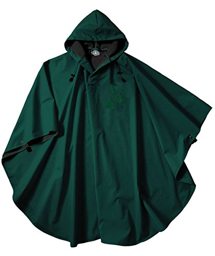 Charles River Unisex Pacific Poncho Raindrop Edition