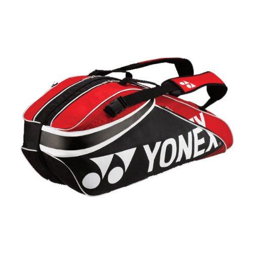 Yonex, Borsa per 6 racchette da tennis, Nero (Schwarz), 80 x 30 x 40 cm, 1 litro