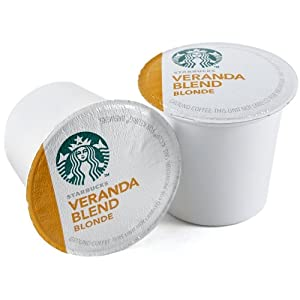 Starbucks Veranda Blend Blonde, K-Cup for Keurig Brewers, 160 Count