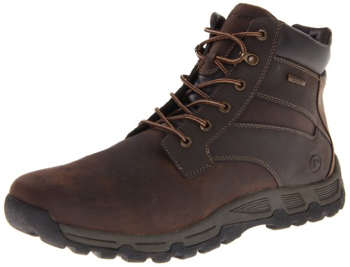 Rockport Heritage Heights Plaintoe K62805, Stivaletti uomo, Marrone (Braun (Dark brown)), 42.5