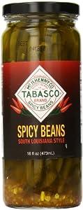 Tabasco Beans, Spicy, 16 Ounce
