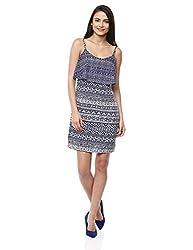 Prym Women's Layered Cami Dress (1011508101_Navy Mix_X-Small)