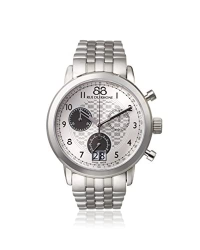 88 Rue du Rhone Men's 87WA140032 Analog Display Swiss Quartz Silver Watch