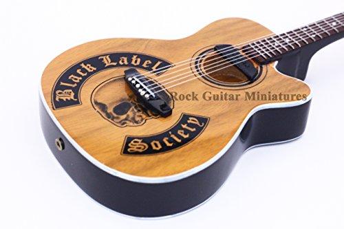 RGM248-Zakk-Wylde-Black-Label-Society-Acoustic-Miniaturgitarre