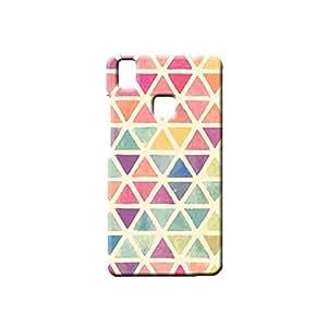 BLUEDIO Designer Printed Back case cover for VIVO V3 - G2179