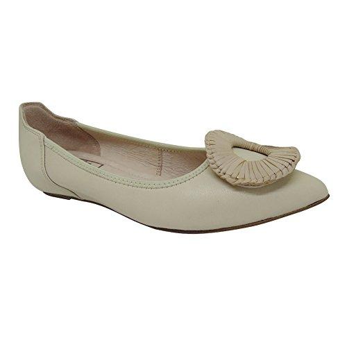 Tempo libero Moda di lusso piuttosto slittamento delle donne sulla pelle di pecora scarpe basse Scarpe da ballo balletto 1602-12