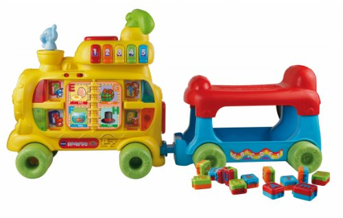 Learn More About VTech Sit-to-Stand Alphabet Train