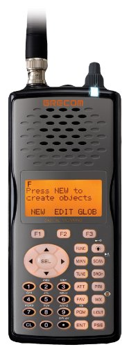 GRE PSR500 Digital APCO-25 Triple-Trunking Handheld Scanner