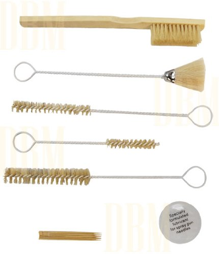 12-pc-paint-spray-gun-cleaner-kit-wire-brush-cleaning-suction-gravity-feed-hvlp