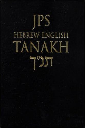 JPS Hebrew-English Tanakh: Pocket Edition written by Jewish Publication Society  Inc.