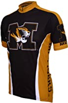 NCAA Missouri Cycling Jersey,Large