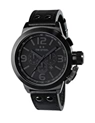 TW STEEL TW843 TW Steel 45MM Cool Black Mens Watch TW843