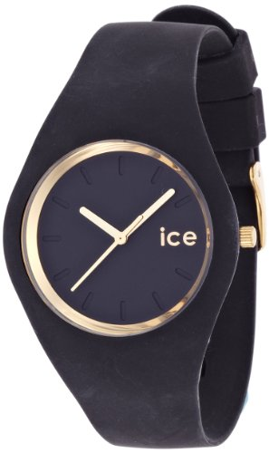 ice watch glam gold schwarz unisex ice gl bk u ice. Black Bedroom Furniture Sets. Home Design Ideas