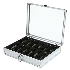 (ブルーロータス)BLUELOTUS 超軽量時計収納ケース ウォッチコレクションケース 12本収納用 BL-274