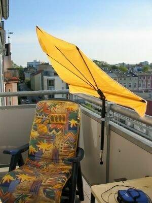 sonnenschirm fr balkon mit halterung carprola for. Black Bedroom Furniture Sets. Home Design Ideas