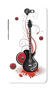 KnapCase Guitar Designer 3D Printed Case Cover For HTC One A9