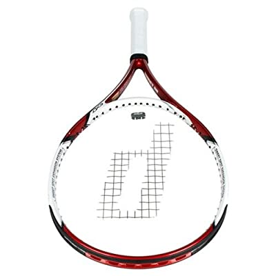 Prince EXO3 Hornet 110 Unstrung Tennis Racket (Red/White/Black)