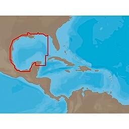 C-Map Na-C402 C-Card Format Pensacola Bay Gulf Honduras