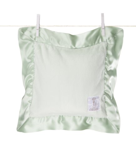 Little Giraffe Luxe Pillow, Celadon