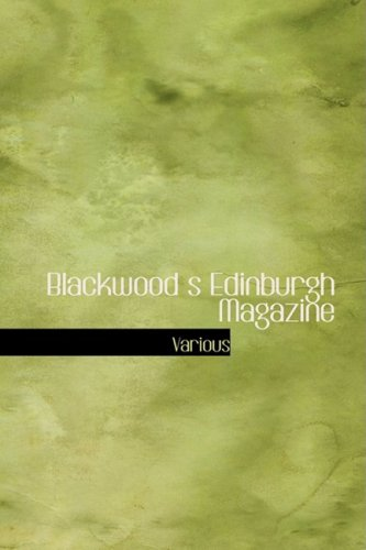 Blackwood's Magazine im Edinburgh