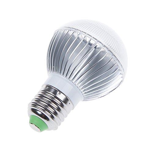 LemonBest 5W E27 RGB 16 Bunt LED Birne Farbwechsel Lampe Licht mit IR Fernbedienung