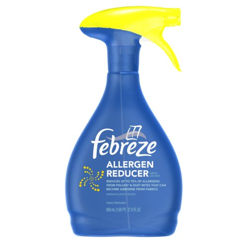 Febreze Fabric Refresher, Allergen Reducer, 27-Ounce (800 mL) Bottles (Pack of 6)