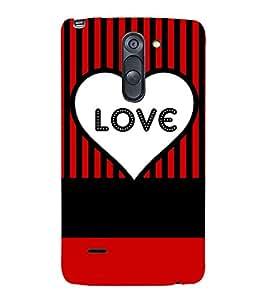 love quote cover 3D Hard Polycarbonate Designer Back Case Cover for LG G3 Stylus :: LG G3 Stylus D690N :: LG G3 Stylus D690