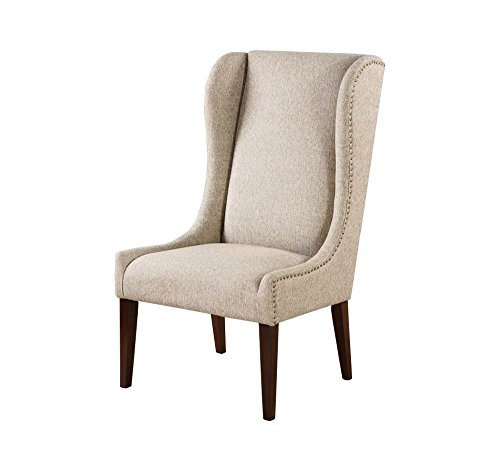 Afydecor A-CH034 Wingback Chair (Off-White)