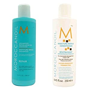 Moroccanoil Moisture Repair Shampoo & Conditioner Combo Set (8.5 oz each)