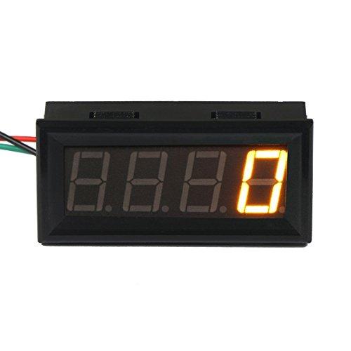 RioRand® 0.56″ Digital Motor LED Tachometer RPM Speed Measure Gauge Meter Tester 60-9999 (Yellow)