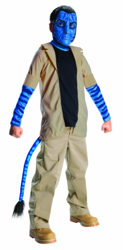 Avatar Child's Costume, Jake Sully Costume, Large