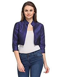 Just Wow 3/4 Sleeve Solid Women's Jacket